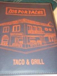 View Los Portales menu (PDF file)