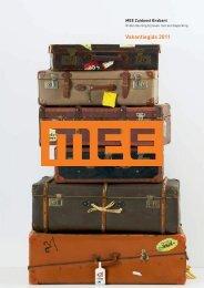 Vakantiegids 2011 - MEE Zuidoost Brabant