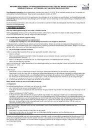 Uitkeringsaanvraag in het stelsel werkloosheid met ... - Aclvb