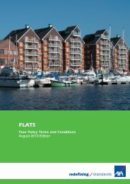 Flats Insurance policy document (PDF) - Business banking