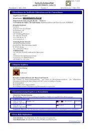 Sicherheitsdatenblatt Handelsname: HOSPISEPT-TUCH - Lysoform.ch