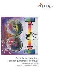 Sécurité des machines et des équipements de travail - EIC2 SA