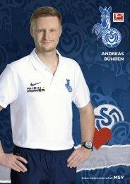 ANDREAS BÜHREN - MSV Duisburg