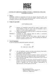 Contrato-Padrão de Compra e Venda a Termo de Letras do Tesouro ...