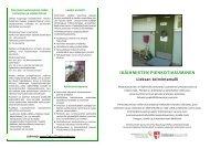 Ikäihmisten pienkotiasumisen toimintamalli - Maaseutupolitiikka