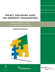 Project Evaluation Guide For Nonprofit Organizations - Sector Source