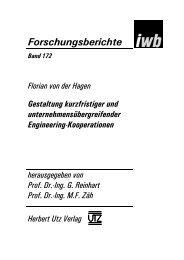 und Einleitung (198 KB) - Herbert Utz Verlag GmbH