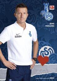 JENS VERGERS - MSV Duisburg