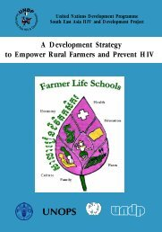 A Development Strategy to Empower Rural Farmers and Prevent HIV