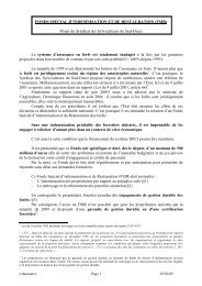 FONDS SPECIAL D'INDEMNISATION ET DE ... - CRPF