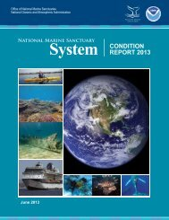 Condition Report on Sanctuaries for 2013 - National Marine ...
