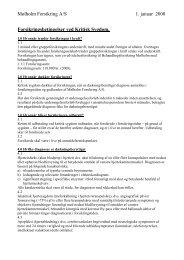 Kritisk Sygdom - Mølholm Forsikring