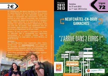 Ligne 72 - Département de Seine-Maritime