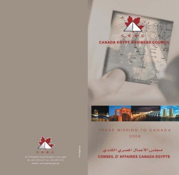 contents - Canada Egypt Business Council