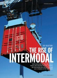 Inbound Logistics | Site Selection: The Rise of Intermodal | Digital ...