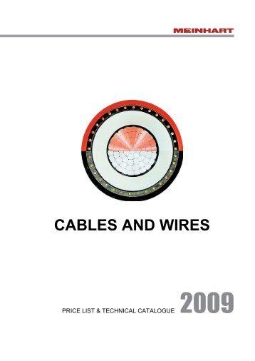 CABLES AND WIRES - Meinhart Kabel Österreich GmbH