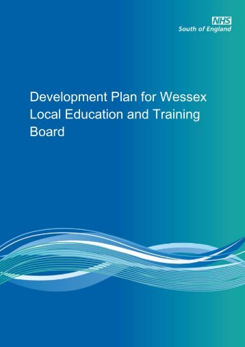 Wessex LETB Development Plan - Workforce and Education