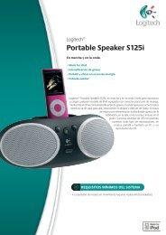 Portable Speaker S125i - Zenoon.com
