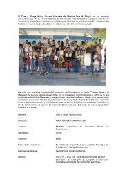 El Tom & Silaya Music School (Escuela de Música Tom ... - sinic