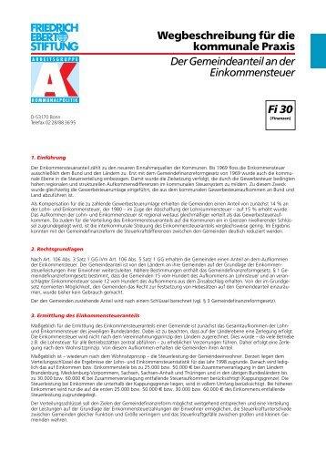 FES AK Fi 30 neu - KommunalAkademie der Friedrich-Ebert-Stiftung