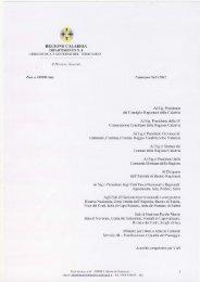 Calendario incontri Conferenze di Pianificazione, nota prot. n ...