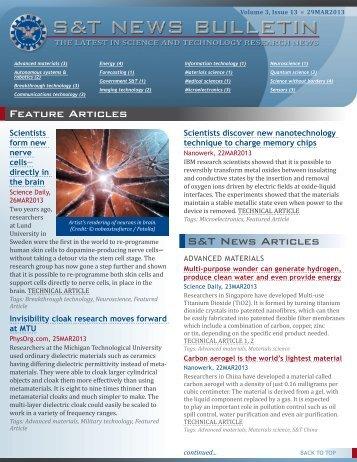 Volume 3, Issue 13 - Defense Innovation Marketplace
