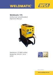 Weldmatic 175 [internal wirefeeder] - BJH