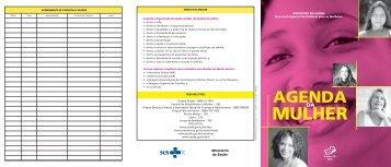 Agenda da mulher. 2006. - BVS Ministério da Saúde
