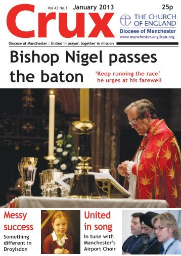 January 2013 - The Diocese of Manchester