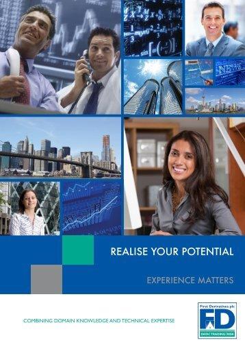 Download brochure - First Derivatives plc