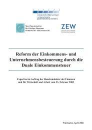 Reform der Einkommens - Sachverständigenrat zur Begutachtung ...