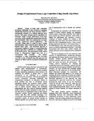 Design of sophisticated fuzzy logic controllers using genetic ...
