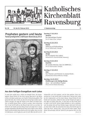1,03 MB - Katholische Gesamtkirchengemeinde Ravensburg