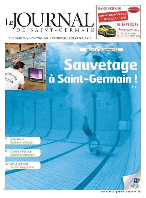 Sauvetage à Saint-Germain - Saint Germain-en-Laye