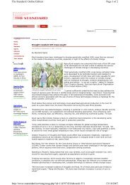 Page 1 of 2 The Standard   Online Edition 23/10/2007 http://www ...
