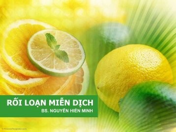 RỐI LOẠN MIỄN DỊCH - Moodle YDS