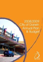 2008/09 City of Darwin Annual Plan and Budget - Darwin City ...