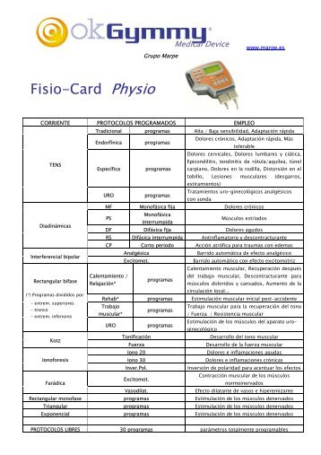 Fisio-Card Physio - Fisaude