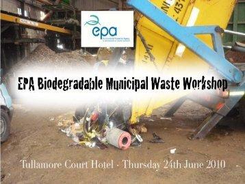 Waste Characterisation