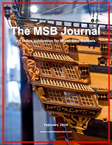 The msb journal model ship builder publicscrutiny Image collections