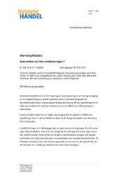 Synpunkter på EUs kemikalieregler.pdf - Svensk Handel