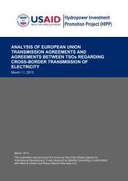 Analysis of European Union Transmission and ... - Georgia - usaid