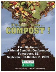 It's about ime ... T - Compost Council of Canada