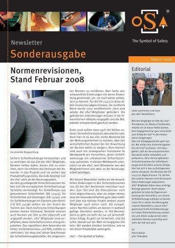 5. oSa Newsletter - Organisation für die Sicherheit von ...