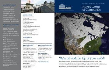 NUNA Group of Companies - Nuna Logistics