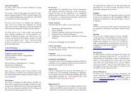 Course Description - DTU Matematik ∙ Institut for Matematik