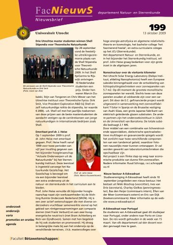 FacNieuwS - Utrecht University - Universiteit Utrecht