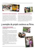 Fiche descriptive Pérou - Terre des Hommes Suisse - Page 3