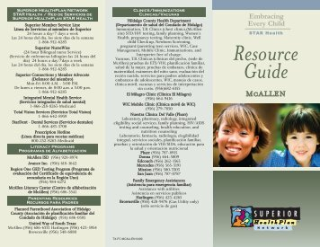 Resource Guide - Fostercare Texas