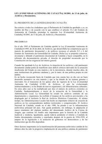 Cataluña - Proyecto Webs